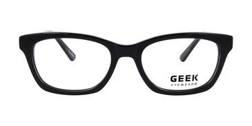 Black GEEK 115 Eyeglasses - Teenager