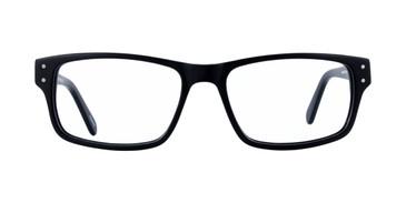 Black GEEK 123 Eyeglasses