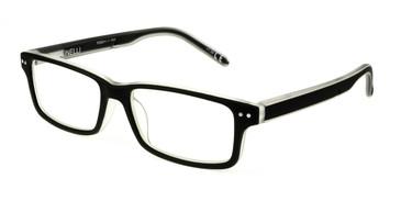 Black/Crystal Polinelli P300 Eyeglasses