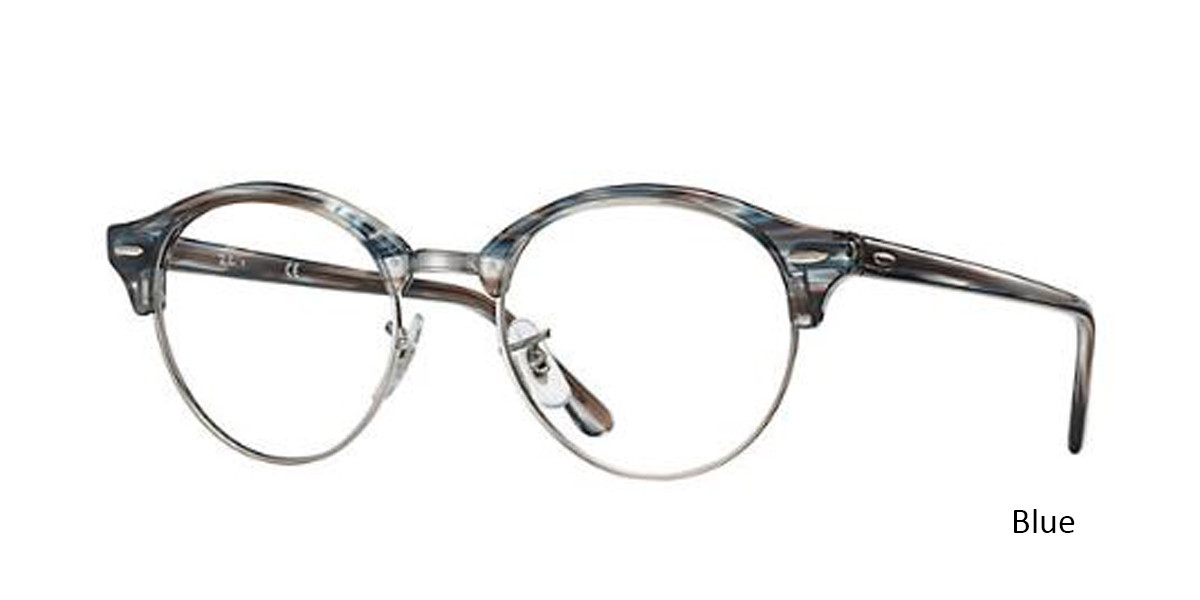 cf05e72d96 ... Blue (5750) RayBan Clubround Optics RB4246V Eyeglasses - Teenager ...