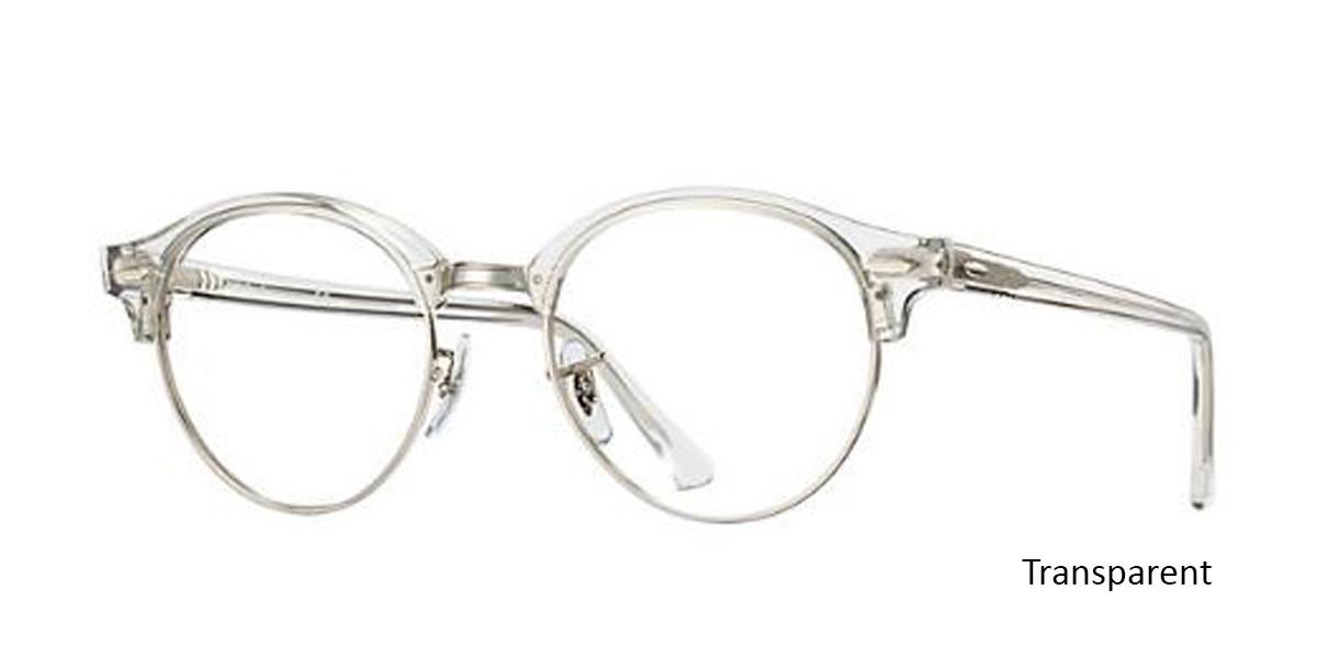 Transparent (2001) RayBan Clubround Optics RB4246V Eyeglasses - Teenager