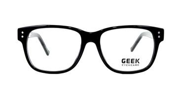 Black GEEK BROWSER Eyeglasses