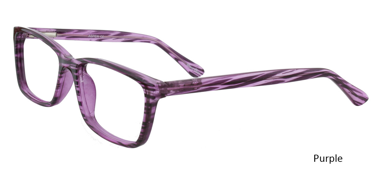 Purple Limited Edition Aspen Eyeglasses