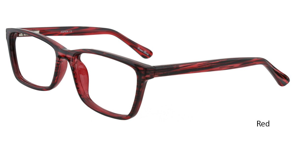 Red Limited Edition Aspen Eyeglasses
