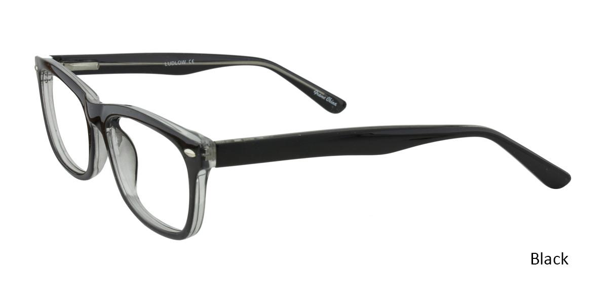 Black Limited Edition Ludlow Eyeglasses