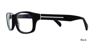 Black BELLA ITALIA 320 Eyeglasses