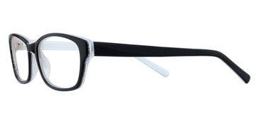 Black/Withe BELLA ITALIA 1226 Eyeglasses
