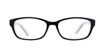 Black/Withe BELLA ITALIA 1226 Eyeglasses