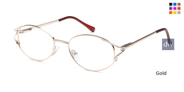 Gold Capri 7704 Eyeglasses