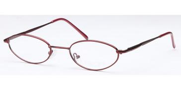 Burgundy CAPRI Peachtree 7718 Eyeglasses
