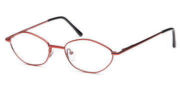 Burgundy CAPRI Peachtree 7724 Eyeglasses.