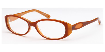 Brown Capri Dicaprio DC102 Eyeglasses - Teenager