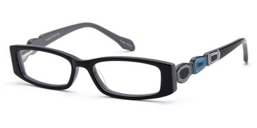 Black Capri Dicaprio DC81 Eyeglasses
