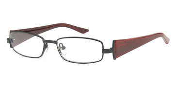 Black Capri Dicaprio DC94 Eyeglasses - Teenager