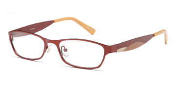 Brown Capri Dicaprio DC97 Eyeglasses - Teenager