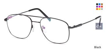 Black CAPRI FX10 Eyeglasses.