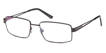 Black CAPRI FX104 Eyeglasses .