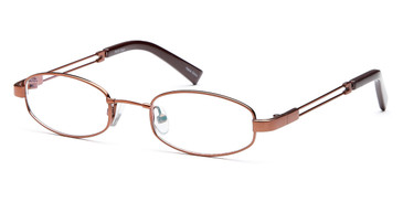 Coffee Capri FX19 Eyeglasses.