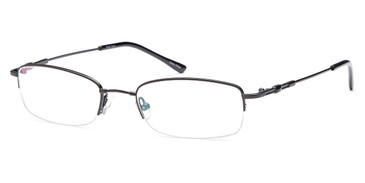 Black CAPRI FX20 Eyeglasses.
