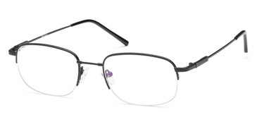Black CAPRI FX6 Eyeglasses.