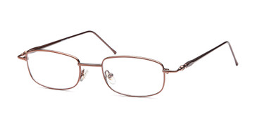 Coffee Capri Versailles Palace Vp106 Eyeglasses - Teenager