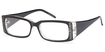 Black Capri 4U US68 Eyeglasses