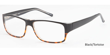 Black/Tortoise Daniel Walters US59 Eyeglasses