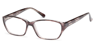 Black Capri 4U US54 Eyeglasses