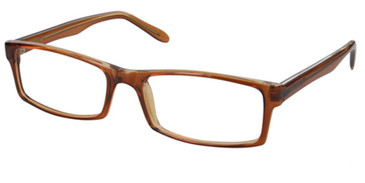 Brown CAPRI 4U U38 Eyeglasses