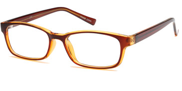 Brown Capri 4U U201 Eyeglasses