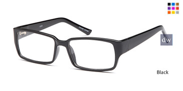 Black Capri U200 Eyeglasses