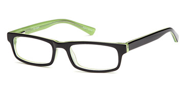 Black Capri Trendy T23 Eyeglasses