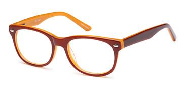 Brown Capri T22 Eyeglasses