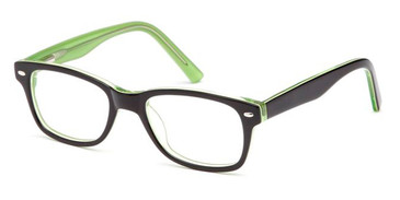 Black Capri Trendy T19 Eyeglasses