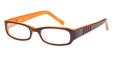 Brown CAPRI T15 Eyeglasses