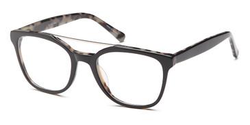 Black Capri DC321 Eyeglasses - Teenager.