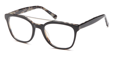 Black Capri Dicaprio DC321 Eyeglasses - Teenager.