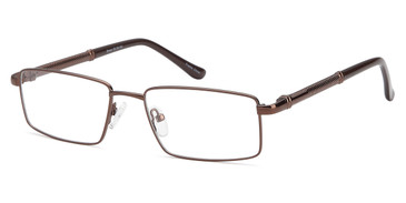Brown Capri Dicaprio DC150 Eyeglasses
