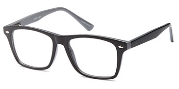 Black Capri 4U US80 Eyeglasses.