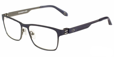 Satin Navy GARGOYLES NATICK Eyeglasses