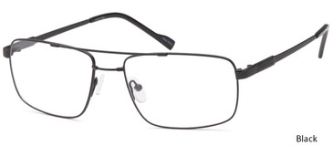 Black CAPRI FX107 Eyeglasses.