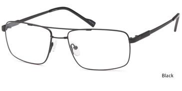 Black CAPRI FX107 Eyeglasses.