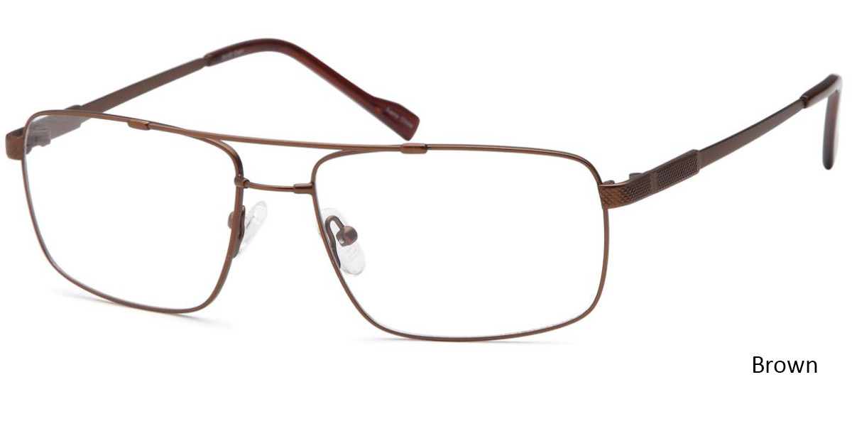 Brown CAPRI FX107 Eyeglasses.