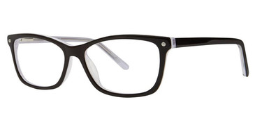Black/White/Crystal Vivid 869 Eyeglasses