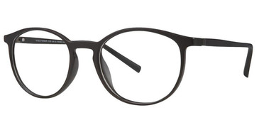 Matte Black Vivid Collection 249 Eyeglasses - Teenager