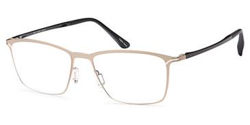 Gold Capri Artistik Galerie AG 5001 Eyeglasses.