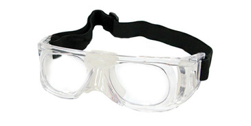 Clear Capri PRORX PLAY BALL Eyeglasses