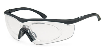 Black Capri PRORX RIDE PRORX Eyeglasses.