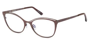 Brown Capri Artistik Galerie AG 5017 Eyeglasses.