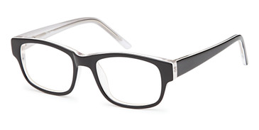 Black Capri Trendy T24 Eyeglasses